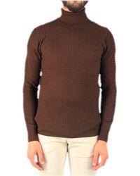 Gran Sasso Brown Wool Sweater