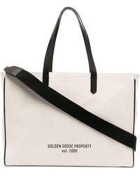 Golden Goose Shopper mit Logo-Print - Mehrfarbig