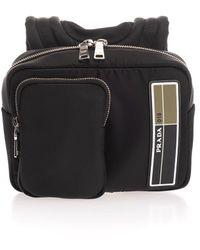 Prada Black Polyamide Backpack