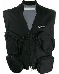 Off-White c/o Virgil Abloh Cotton Vest - Black