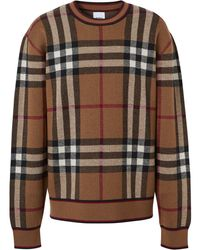 Burberry WOLLE SWEATER - Mehrfarbig