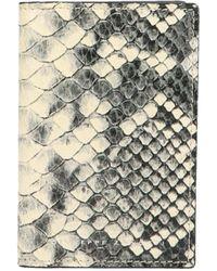 Giuseppe Zanotti Multicolour Leather Card Holder