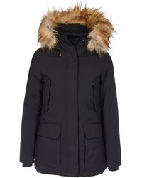 Save The Duck - Black Polyester Down Jacket - Lyst