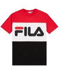 Fila - Multicolor Cotton T-shirt - Lyst