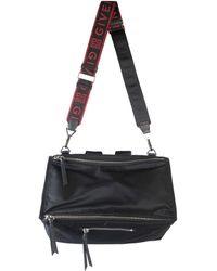 Givenchy Leather Messenger Bag - Black