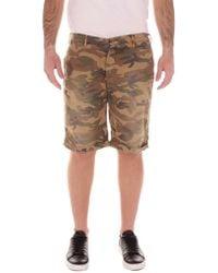 40weft Green Cotton Shorts