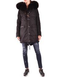 Philipp Plein Polyester Outerwear Jacket - Black