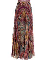 Etro GONNA DONNA 189065049650 MULTICOLOR - Multicolore