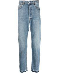 Golden Goose Jeans slim Happy - Blu