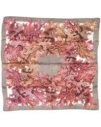 Borbonese SEIDE FOULARD - Pink