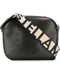 Stella McCartney Black Polyurethane Shoulder Bag