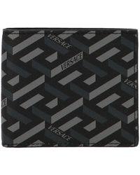Versace Dpu24631a019745b050 andere materialien brieftaschen - Schwarz