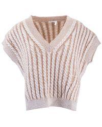 Chloé - Wool Vest - Lyst