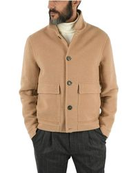 Brunello Cucinelli Wool Coat - Natural