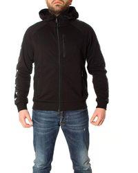 Emporio Armani Black Cotton Sweatshirt