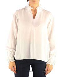 Le Sarte Pettegole Silk Blouse - White
