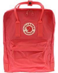 Fjällräven Kånken Pink Synthetic Fibres Backpack