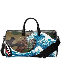 Sprayground Pvc Travel Bag - Brown