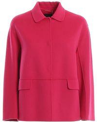 Weekend by Maxmara Wool Coat - Pink