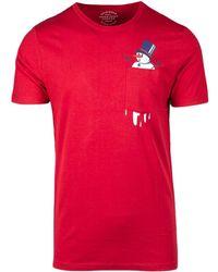 Jack & Jones - Red Cotton T-shirt - Lyst