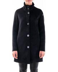Rrd Wool Coat - Black