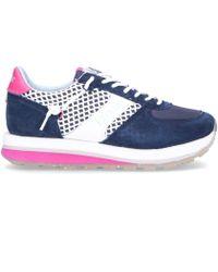 Etonic Blue Leather Sneakers