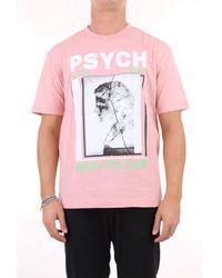 McQ Rosa und weißes t-shirt - Pink