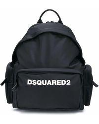 DSquared² POLYAMID RUCKSACK - Schwarz