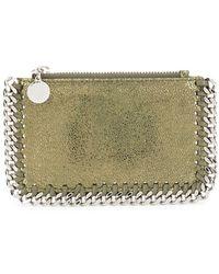 Stella McCartney Polyester Card Holder - Green