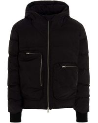 Thom Krom Mj57 Other Materials Outerwear Jacket - Black