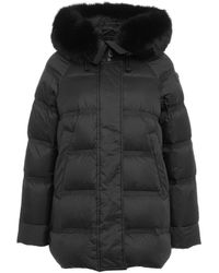 Peuterey Other Materials Down Jacket - Black