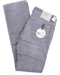 Jacob Cohen Jeans 620 modell in grau