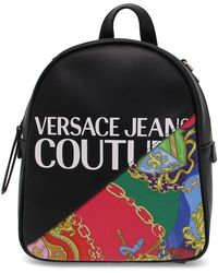 Versace Jeans Couture Versace Jeans Other Materials Backpack - Black