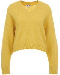 Baum und Pferdgarten 21935chio12c3495 andere materialien sweater - Gelb