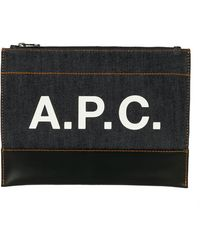 A.P.C. Pouch - Blue