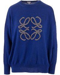 Loewe - Wool Sweater - Lyst