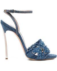 Casadei Sandalen mit hohem Absatz - Blau