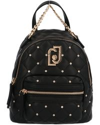 Liu Jo Black Polyamide Backpack