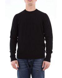 Drumohr Solid Colour Cashmere Jumper - Black