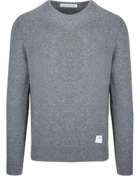 Department 5 WOLLE SWEATER - Grau