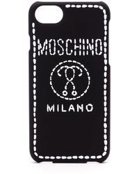 Moschino - Black Plastic Cover - Lyst