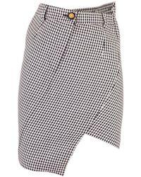 Balenciaga Wool Skirt - Black
