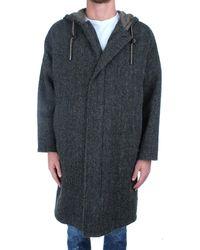 Aspesi Green Wool Coat