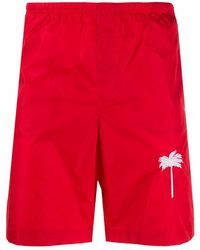 Palm Angels POLYESTER BADEBOXER - Rot