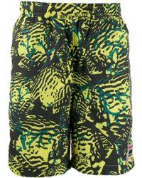 BBCICECREAM Green Polyester Trunks