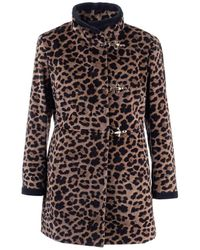 Fay Cashmere Coat - Brown