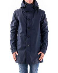 Peuterey Polyamide Coat - Blue