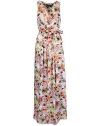 Patrizia Pepe Women's 2a2232a9c6xu77 Pink Polyester Dress