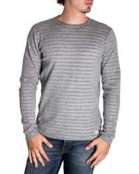 Only & Sons Grey Cotton Jumper - Gray