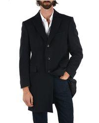 Ermenegildo Zegna Wool Coat - Blue